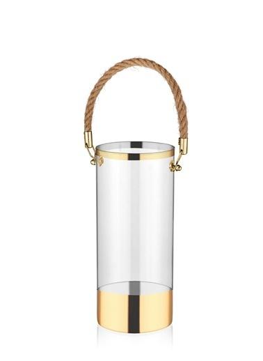 The Mia Cam Vazo Gold - 25 Cm Renksiz